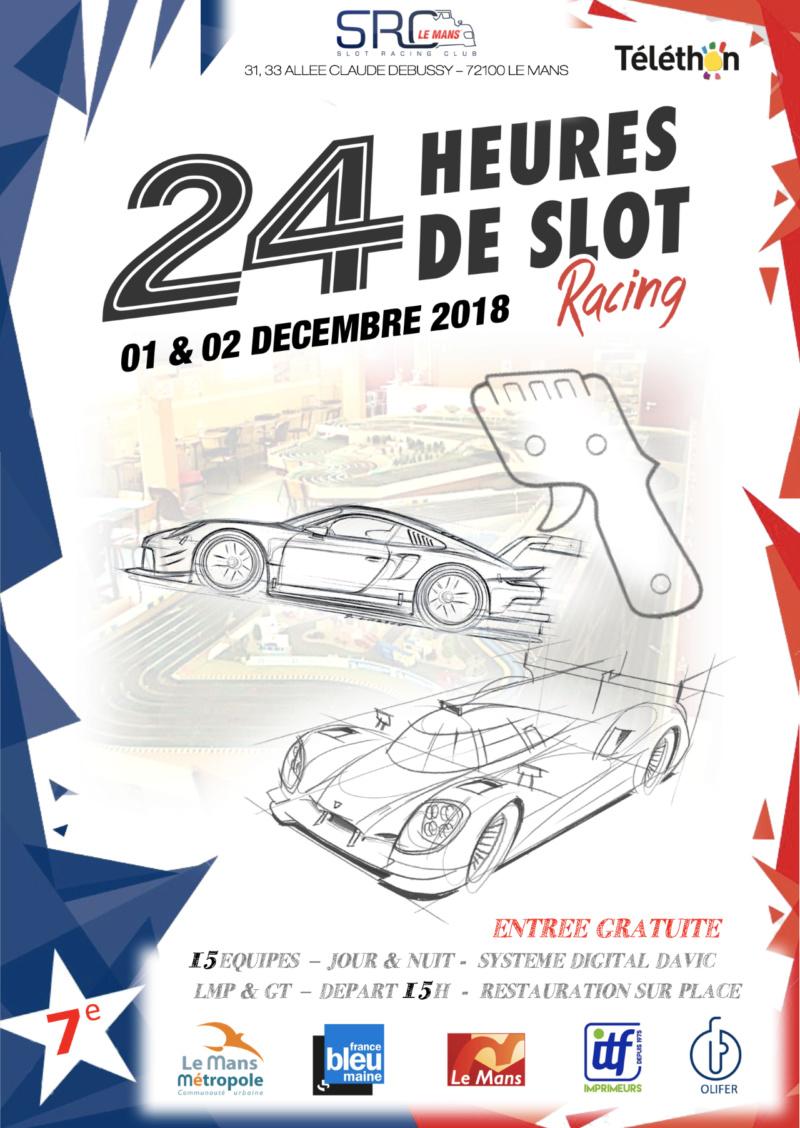 SRC Le Mans: les 24h de slot racing du Mans 2018