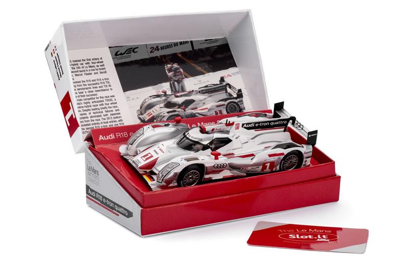 Audi R18 e-tron Quattro No.1 Le Mans Winner 2012 : SICW14