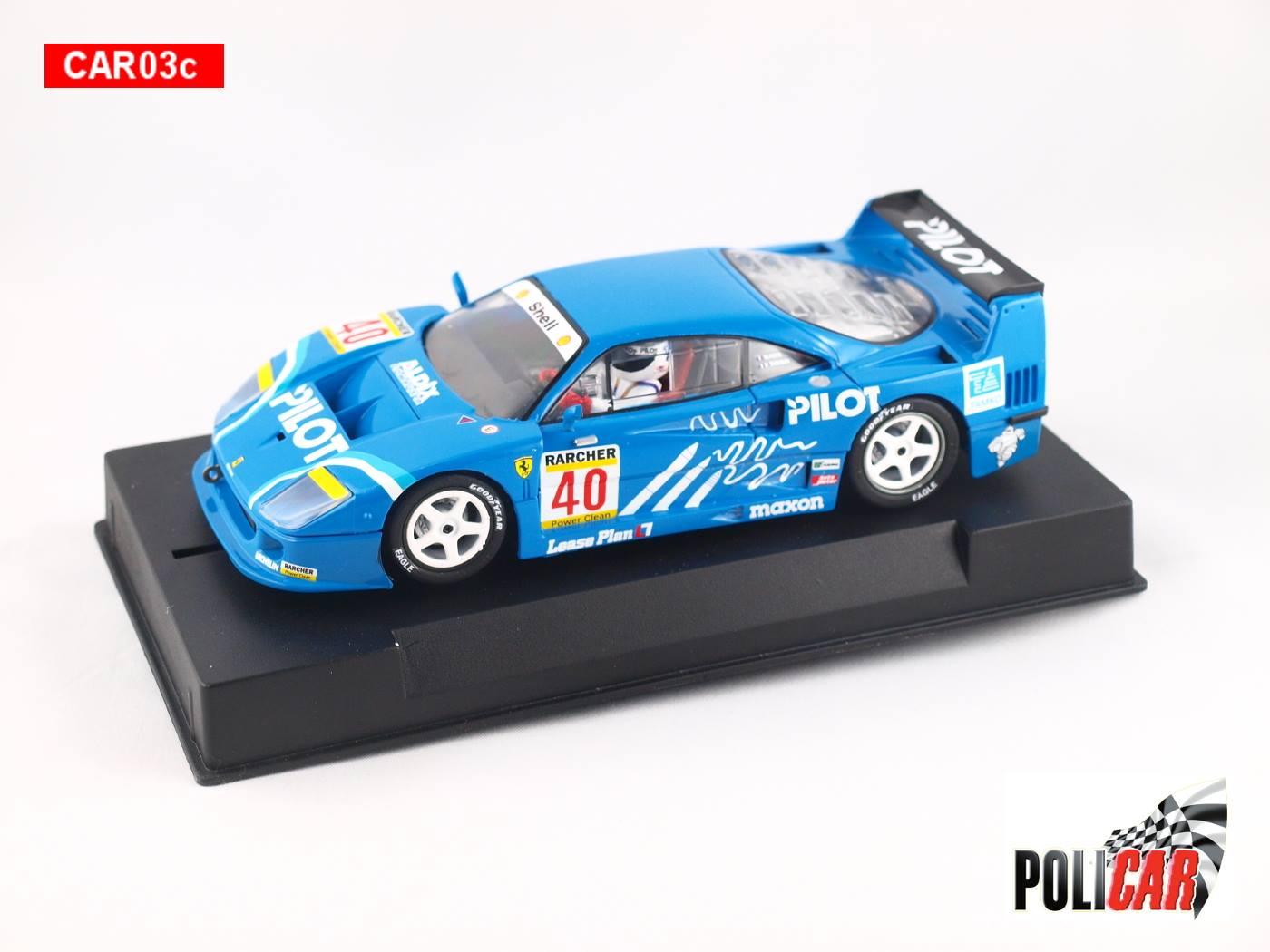 Policar: la Ferrari 40 2nd Silverstone 1995 - CAR03c est annoncée
