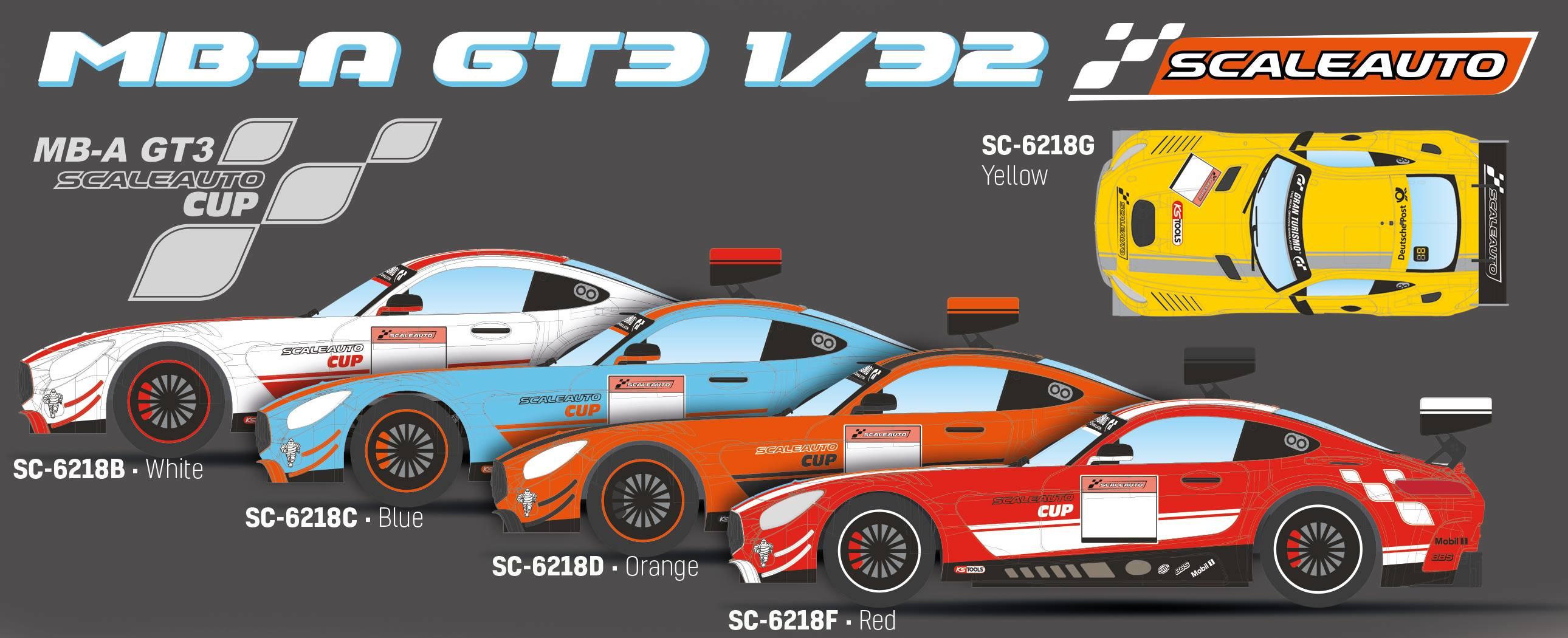 Scaleauto: la Mercedes AMG GT3 en édition CUP