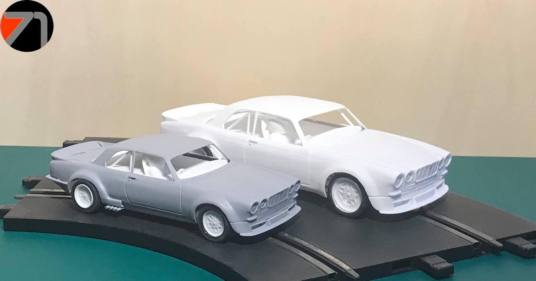 "The Area71 Slotcars Jaguar XJC-V12 ""BROADSPEED"""