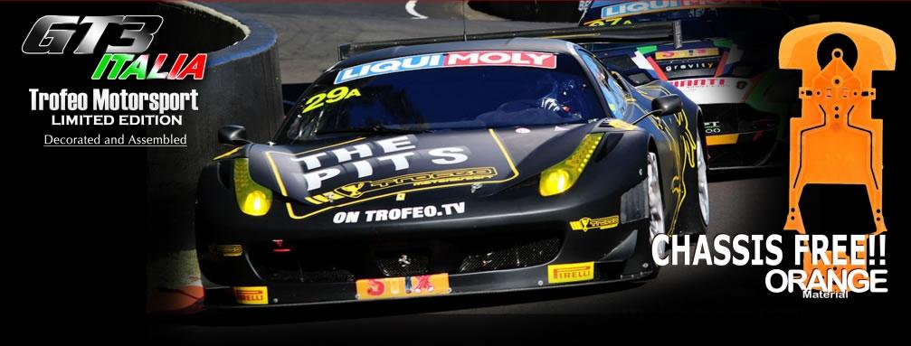Black Arrow la GT3 Italia Trofeo Limited Edition.