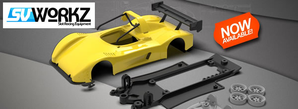 SV Workz: le kit en impression 3d de la Radical SR3