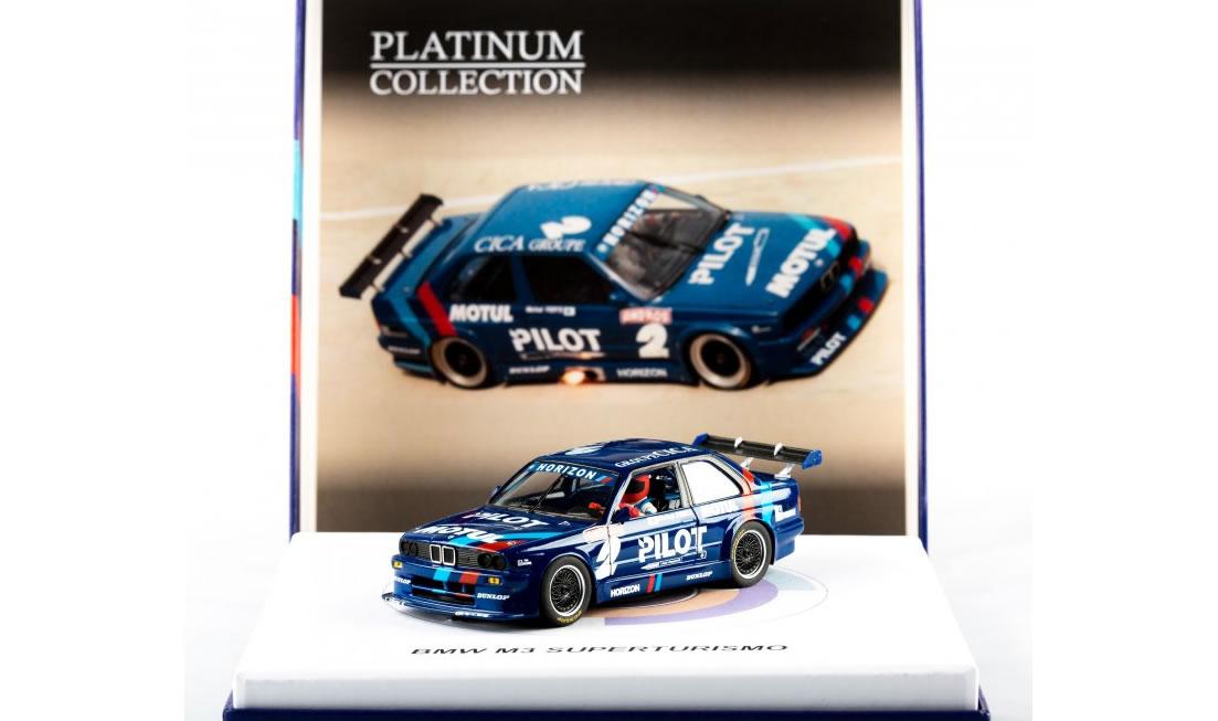 "Slotwings: la la BMW M3 E30 Supertourisme Dijon 1991 ""Platinium Edition"""