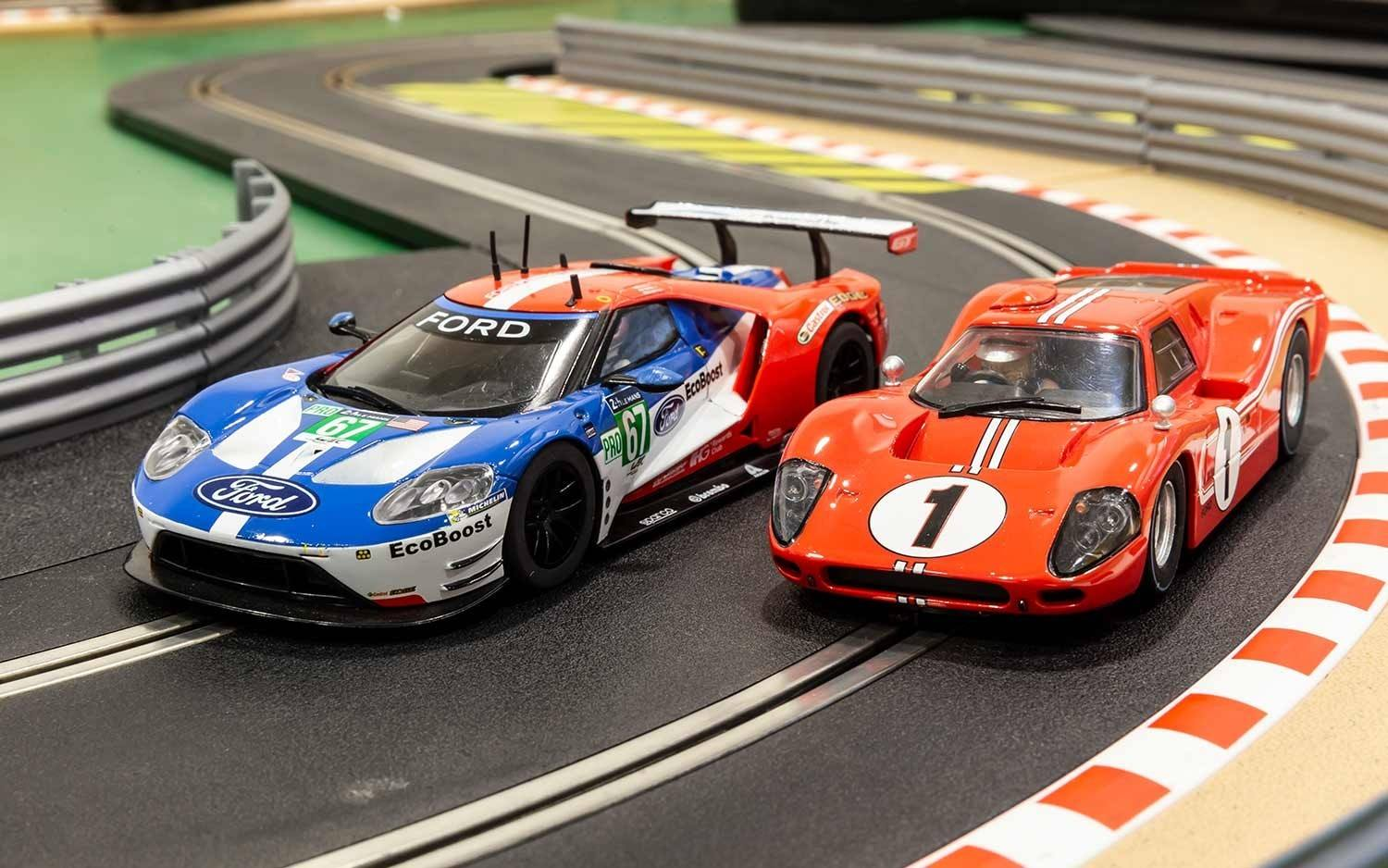 Scalextric : 50 years of Ford Twin Pack - Limited Edition C3893A
