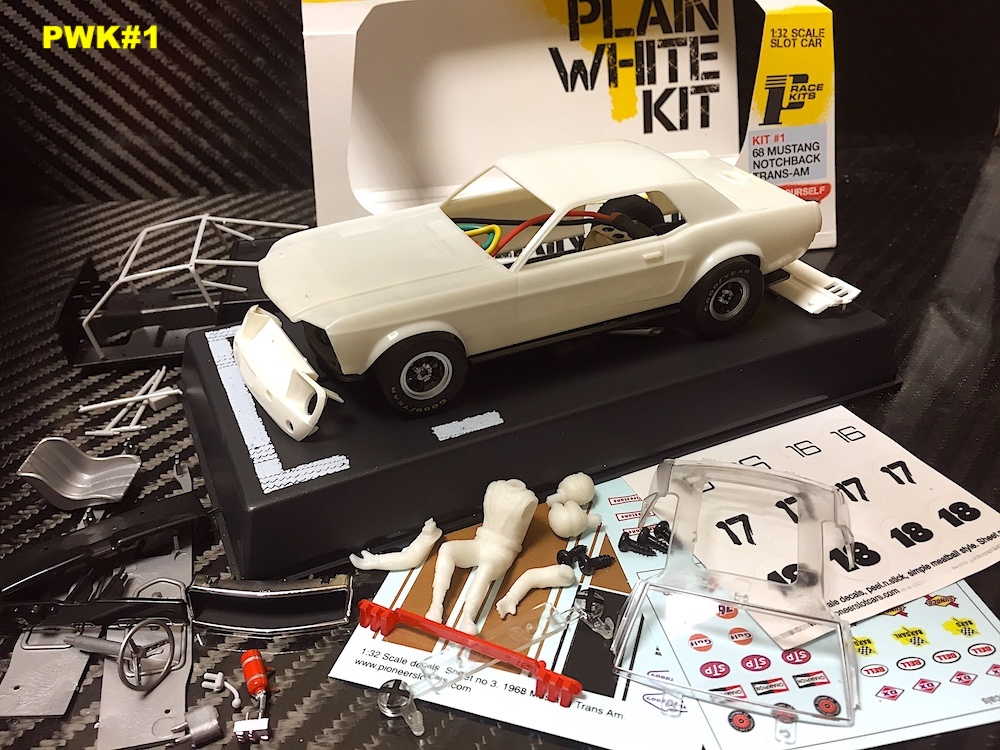 Pioneer : la Mustang Notchback version White Kit