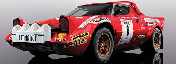 Scalextric: la Lancia Stratos – Tour de Corse – Rallye de France 1975