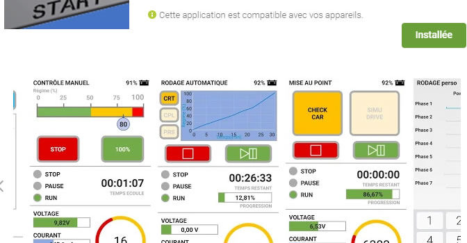 Slot Car Technology: l'application Android du Bench est disponible