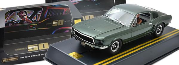 Pioneer: la Mustang GT 390 Fastback - 50 ans Bullitt - Édition spéciale