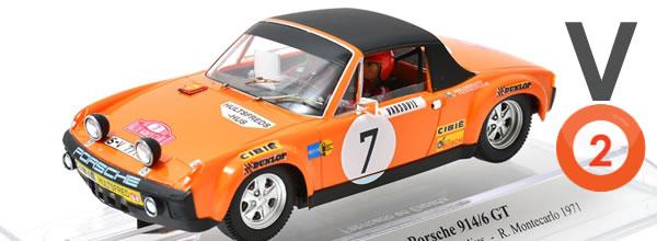 SRC Une nouvelle version de la Porsche 914-6 GT