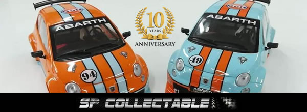 Sp Collectable Deux Fiat 500 Abarth Spécial Gulf Edition