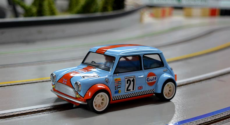 BRM: des photos de la Mini Cooper 1/24 version préproduction