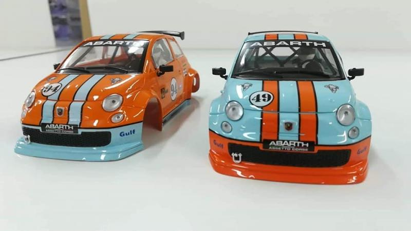 Fiat 500 Abarth – SP Collectable by NSR