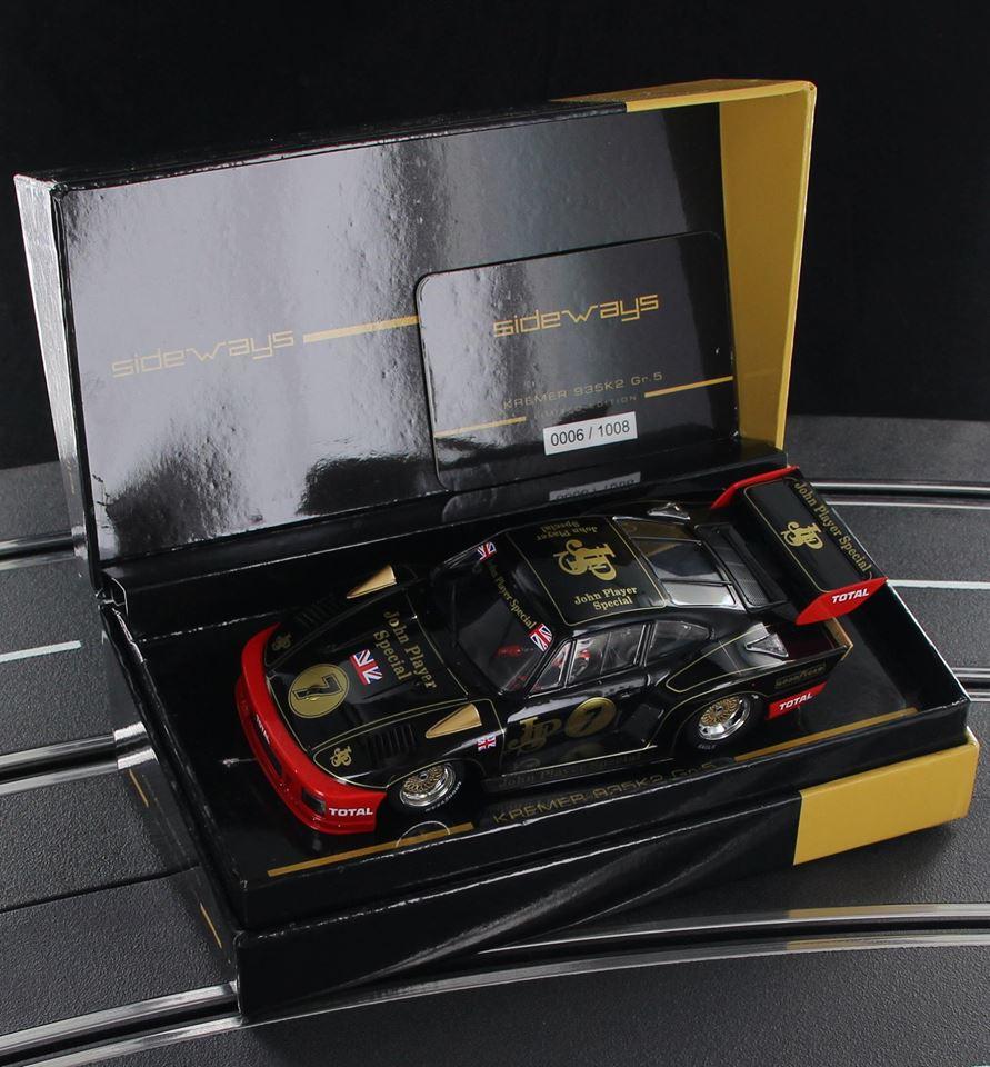 Sideways : la Porsche KREMER 935 K2 de la collection Limited Edition JPS