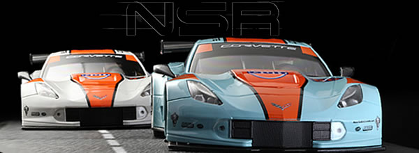 """NSR Slot: Deux Corvette C7R """"Spécial Gulf Edition"""""""