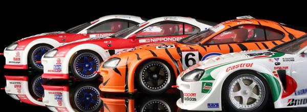 RevoSlot: Les photos des Toyota Supra pour le slot