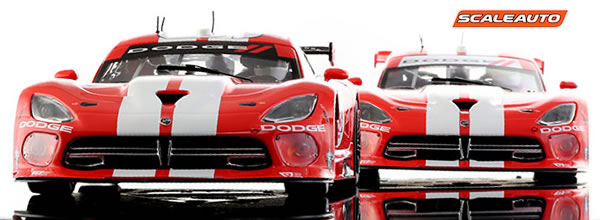 Scaleauto: Deux nouvelles décoration de Viper GTS-R arrivent