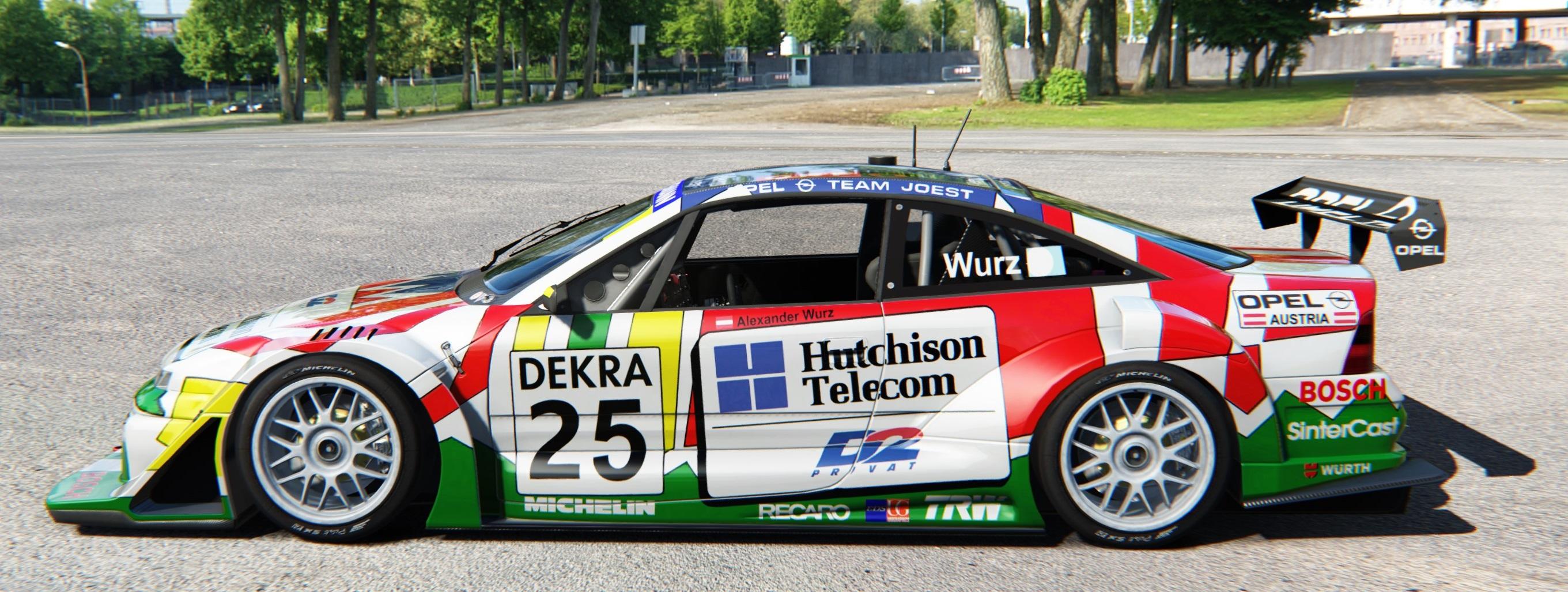 SLOT.IT CA36D - Opel Calibra V6 - Diepholz ITC 1996 #25