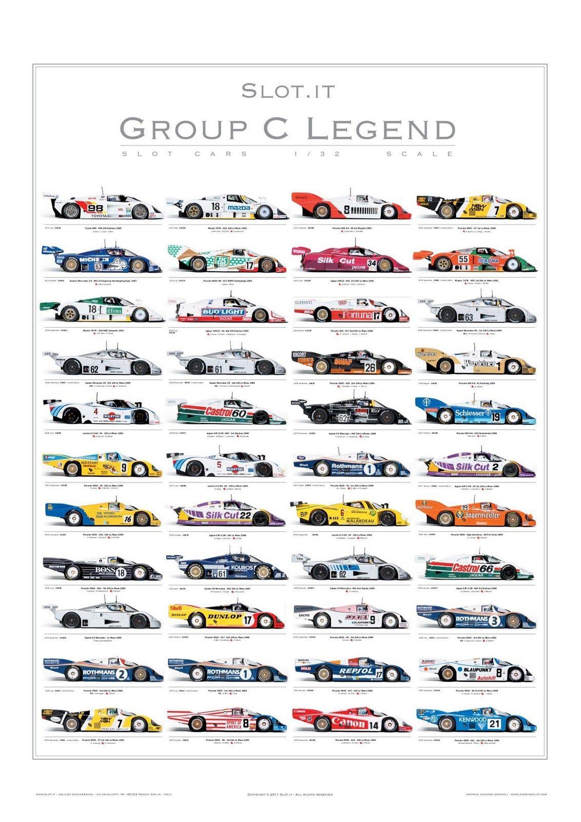 Slot.it PGRC Poster Group C Legend -1
