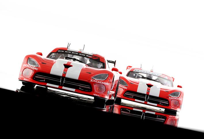 SRT Viper GTS-R, 6H Watkins Glen 2014 GTLM n ° 91 - n ° 93 - SC-6136-R - 6137-R