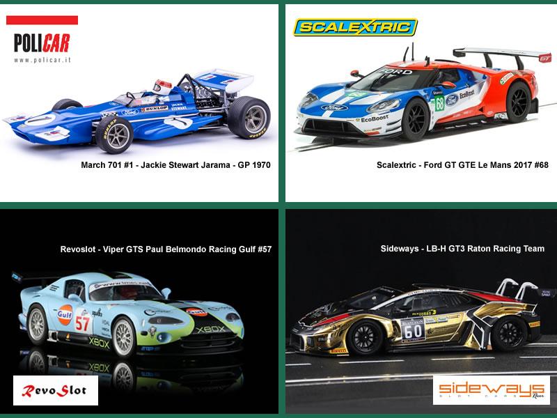 election de la plus jolie voiture de slot racing de l'année 2018 - finale