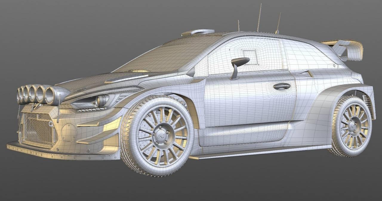 Scaleauto: la Hyundai i20 Coupe WRC 2017 1/32 en projet