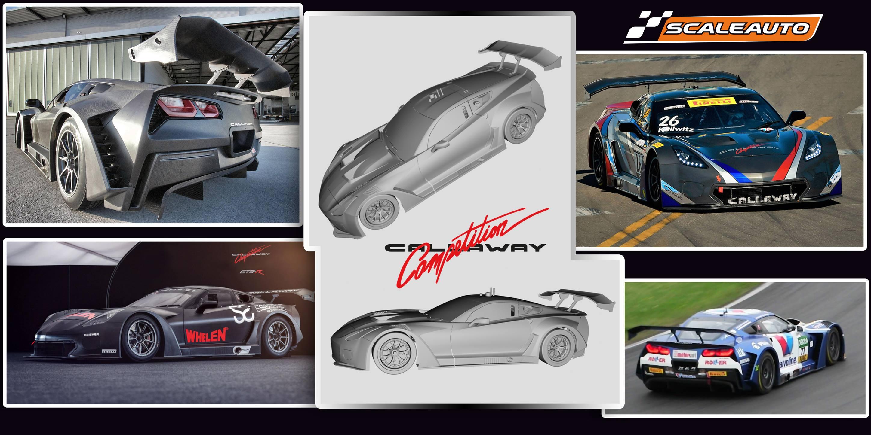 Scaleauto: la Corvette C7-R GT3 Callaway en 2019