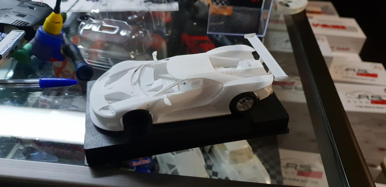Ford GT Sideways 3D