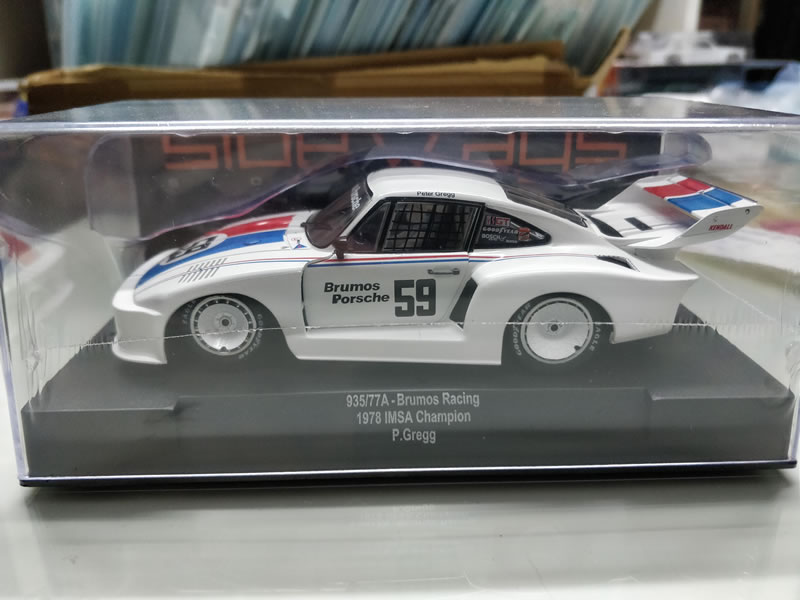 La Porsche 935/77a – Brumos Racing 1978 IMSA Champion P. Greff