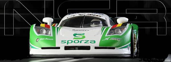 NSR Slot: la Mosler MT 900 R des 24h de Zolder de 2008 réf 0080AW