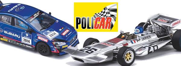 Policar: quelques livrées de slot cars annoncées pour 2019