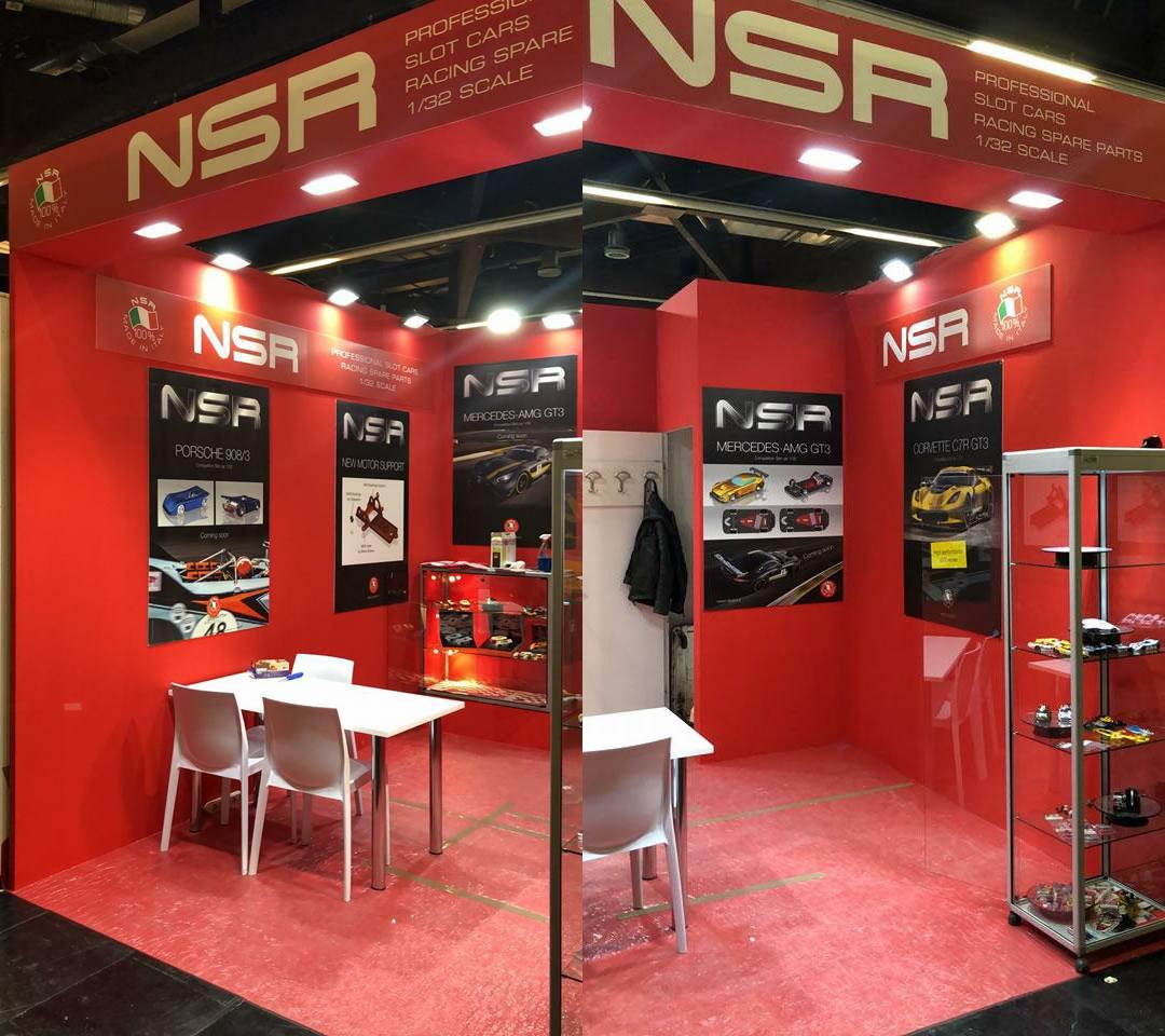 NSR Slot: les photos du stand NSR au salon de Nuremberg 2019