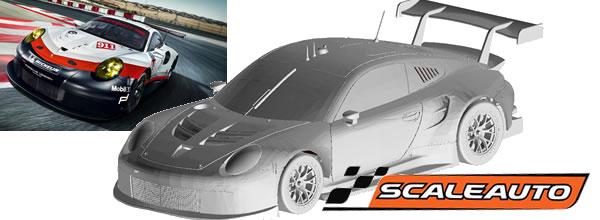 Scaleauto: la Porsche 911 RSR GT3 LM GTE version 2017