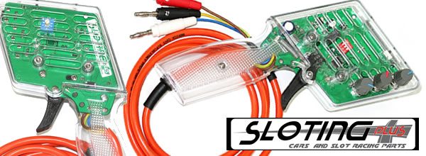 Sloting Plus: une poignée de contrôle pour le rallye slot.