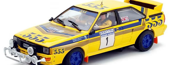 "Team Slot : l'Audi Quattro A2 ""Hong Kong - Beijing rally ' 85"""