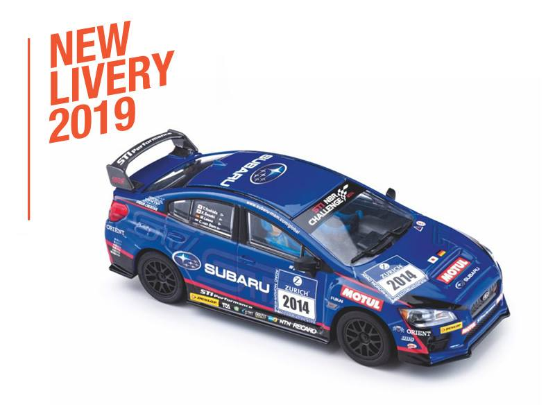 Voiture Subaru WRX STI 24h Nürburgring 2014 - Réf PC-CT02a