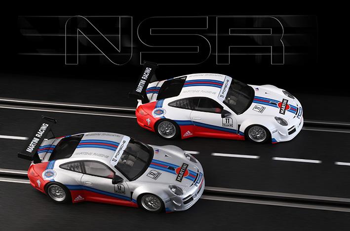 NSR Slot: Deux Porsche 997 Martini Racing