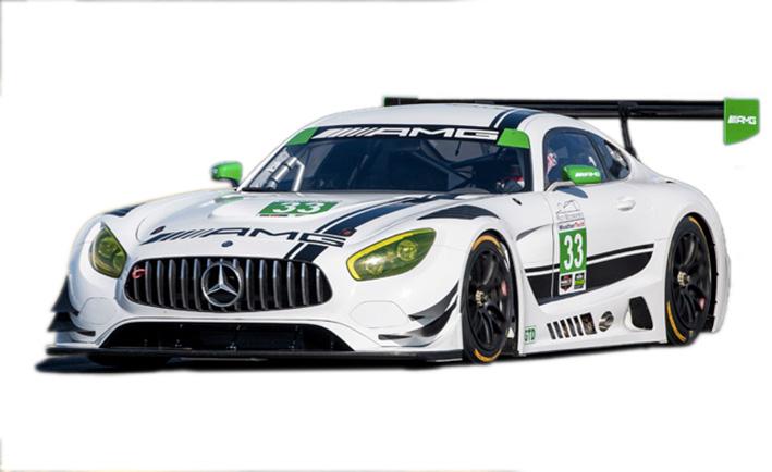 Mercedes - AMG GT3 - Sebring 2017 #33