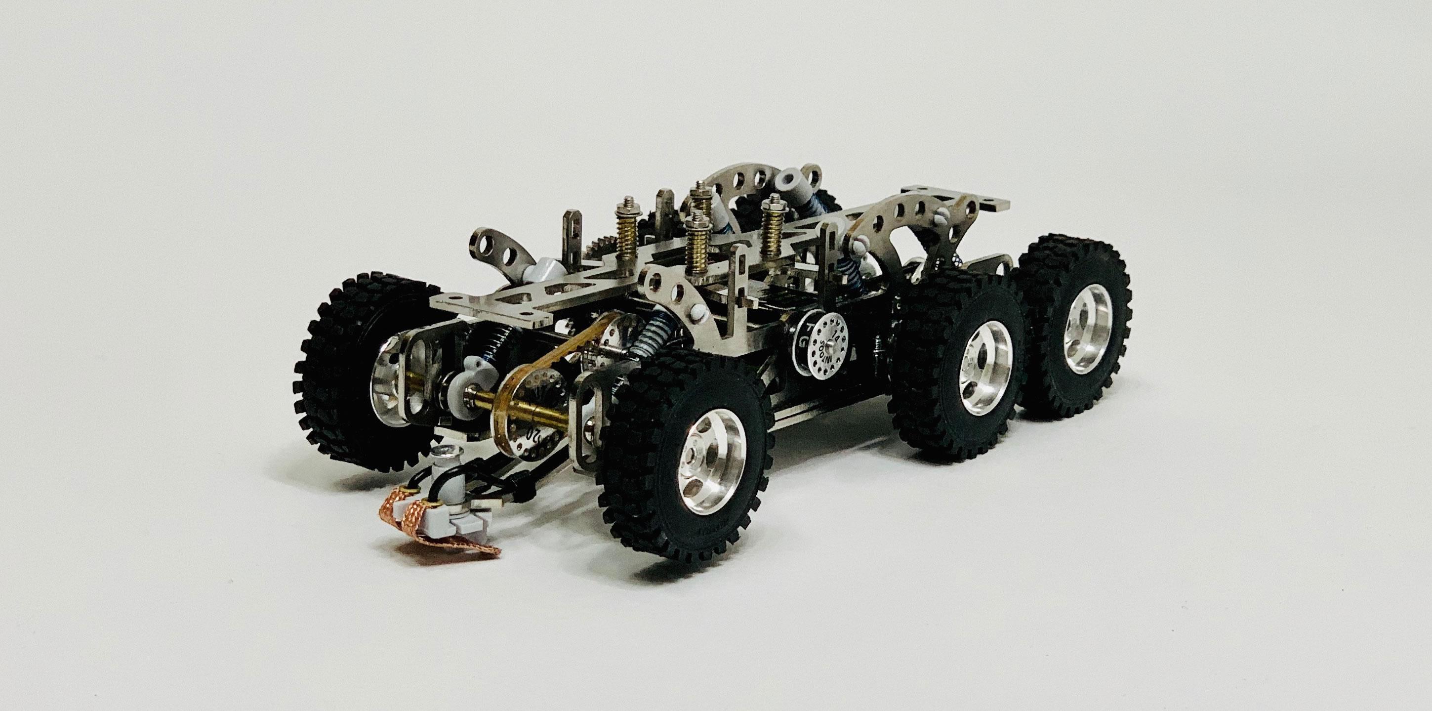 Mitoos: Un nouveau chassis 6x6 pour les camions de Rallye Raid