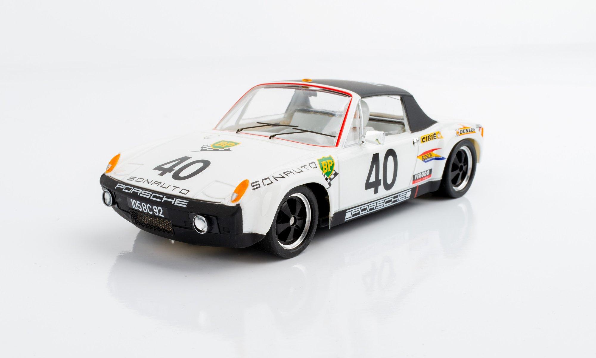 SRC: La Porsche 914/6 prête pour la compétition