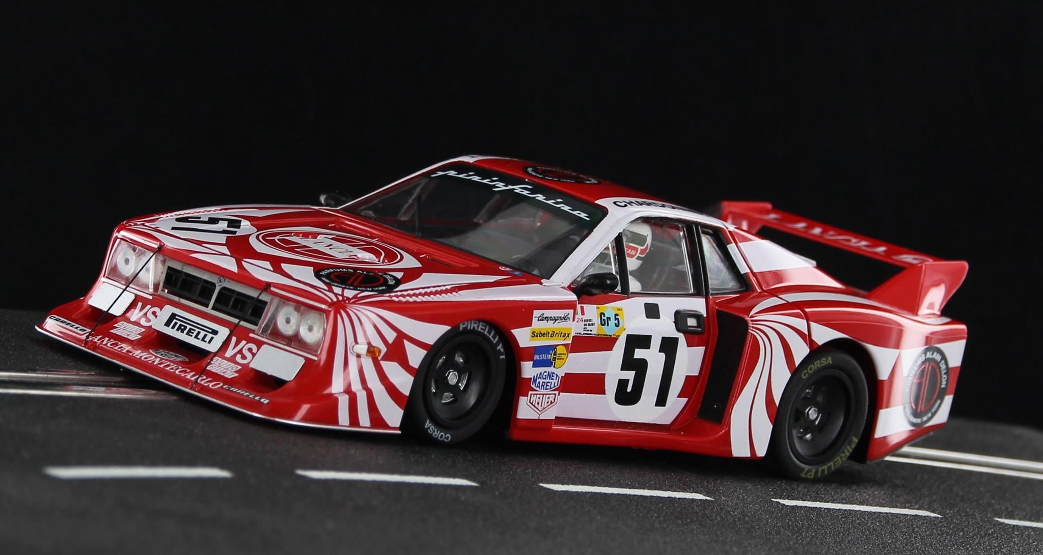 Sideways: la Lancia Beta Montecarlo Turbo Gr.5 #51- Le Mans 1980