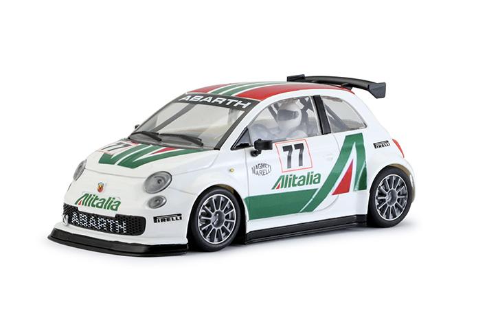 Abarth 500 Assetto Corsa Alitalia #77 - White