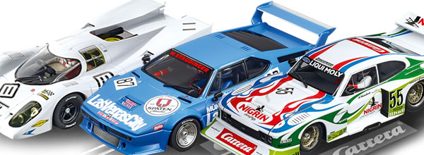 Carrera les slot cars à l'échelle 1-24 disponibles en mars 2019
