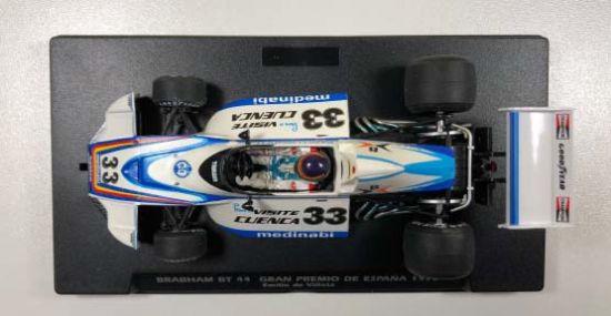 FlySlot : la Brabham BT44, No.33, GP Espagne 1974