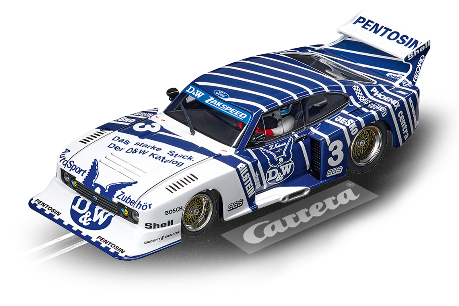 Ford Capri Zakspeed Turbo D&W Zakspeed Team #3 (30887)