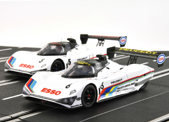 Le Mans miniatures - Peugeot 905 - 5 & 6