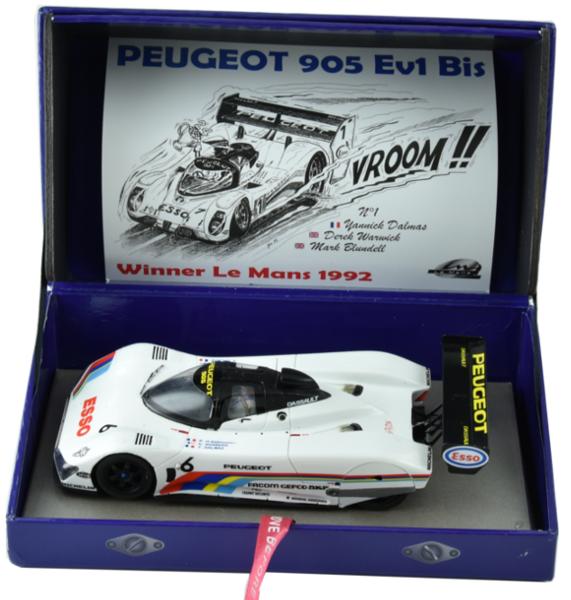 LE MANS miniatures Peugeot 905 n°6