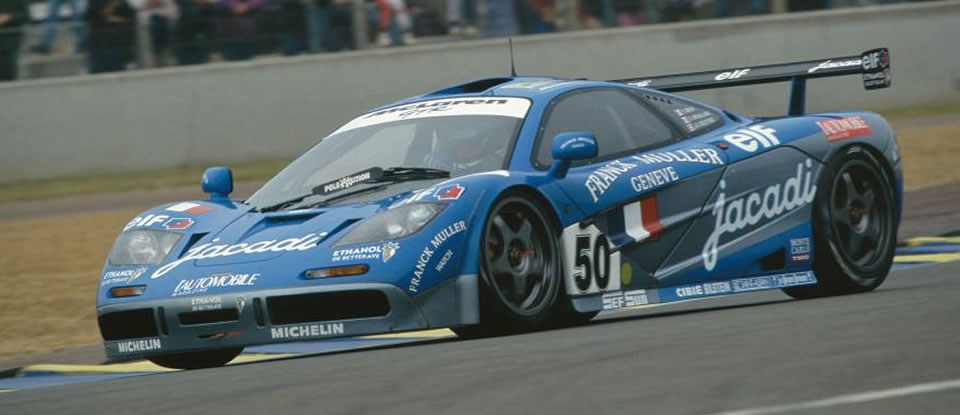 McLaren GTR Jacadi