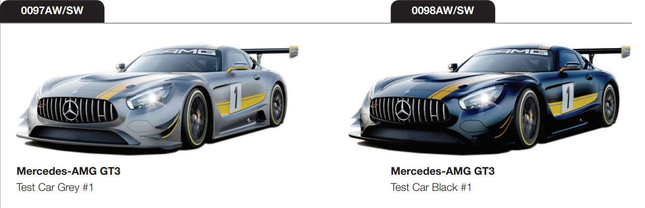 Mercedes - AMG GT3 - Test Car