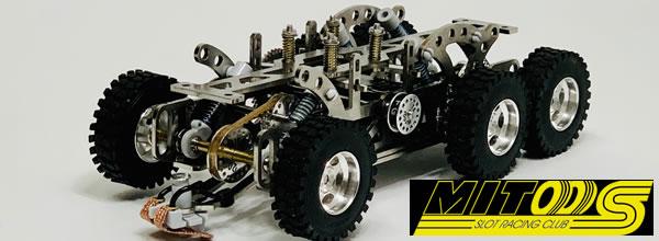 Mitoos: Un chassis 6×6 pour les camions de Rallye Raid